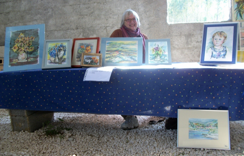 Sunday's exhibition in Campelos